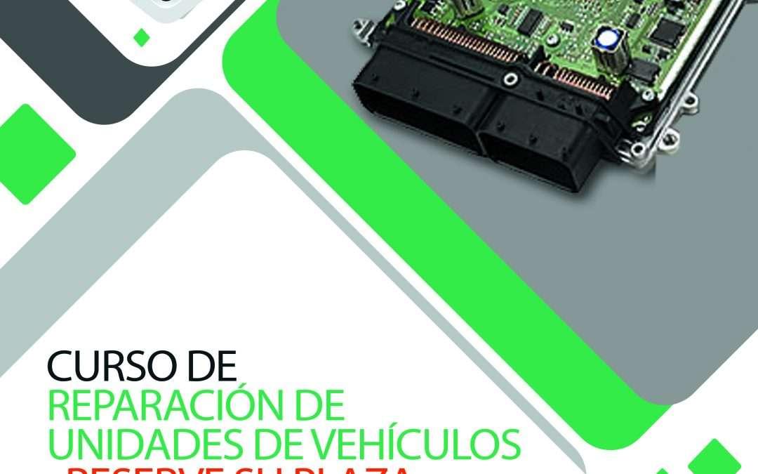 ¡¡¡Nueva convocatoria Curso de Reparación de Unidades de Motor para los días 23, 24 y 25 de Julio de 2021¡¡¡